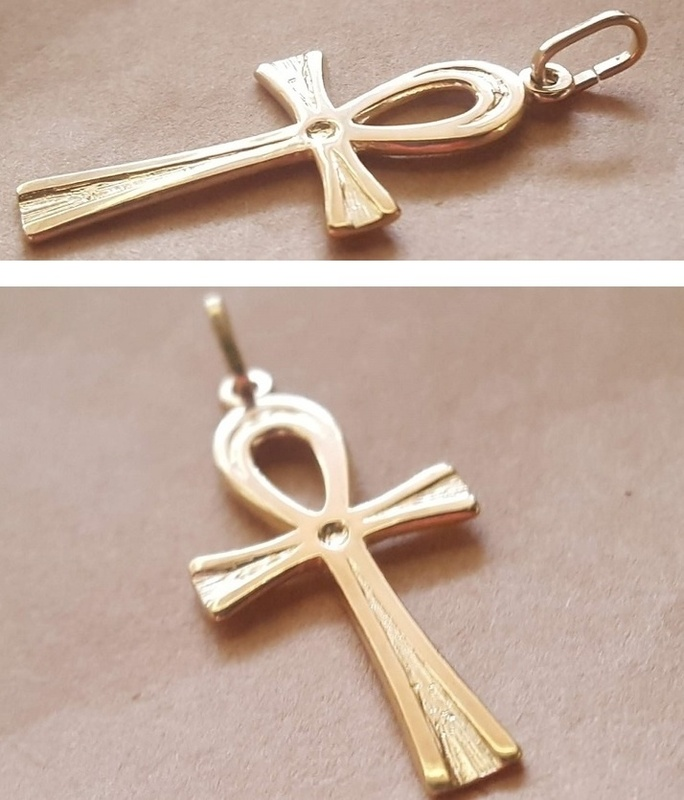 Charm - ANKH - Sterling Silver or 9ct Gold