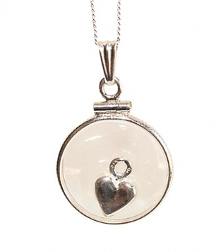 Pendant - MUMMA-TO-BE WISH - Sterling Silver