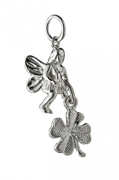 Fairy Helper - The GOOD-LUCK Fairy - Sterling Silver