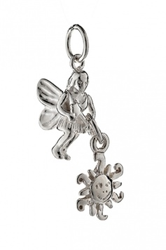 Fairy Helper - The SUN-WILL-COME-OUT-TOMORROW Fairy - Sterling Silver