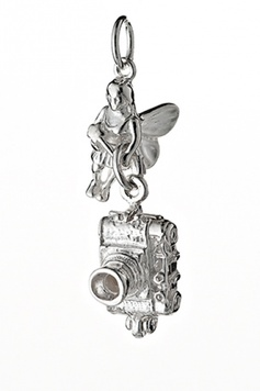 Fairy Helper- The SMILE Fairy - Sterling Silver