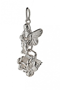 Fairy Helper- The BUNDLE-OF-JOY Fairy - Sterling Silver