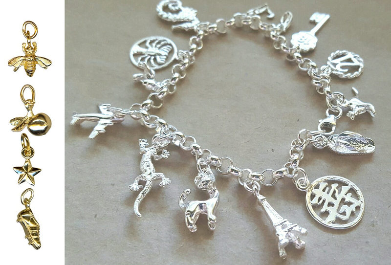 Charm Bracelet -DESIGN YOUR OWN