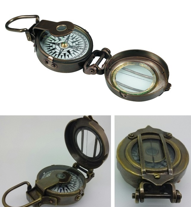 Heritage - COMPASS - ENGINEERS - Brass