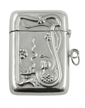 Locket - VESTA CASE - Sterling Silver