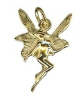 Charm - NOUVEAU FAIRY - Sterling Silver or 9ct Gold