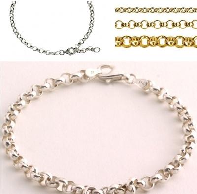 White Gold Charm Name ISABELLE Bracelet Birthday Christmas Easter Gifts For Her