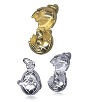 Charm - OPENING EGG WITH CHICK - Sterling Silver or 9ct Gold