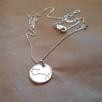 Necklace - CONSTELLATION ZODIAC - Sterling Silver