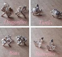 Earrings - LITTLE STUDS - Sterling Silver
