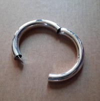 Bangle - HINGED OPENING - Sterling Silver
