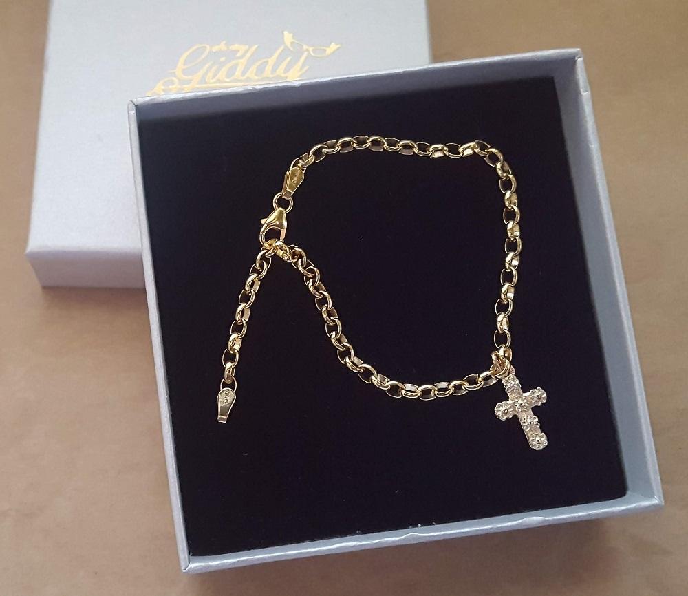 bracelet for charm 9ct gold