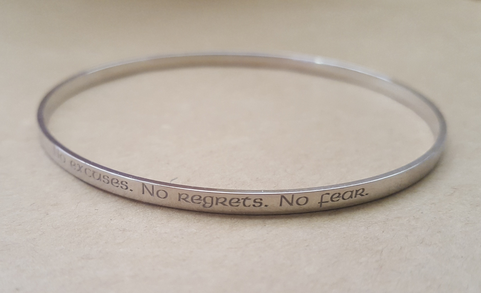 silver engraved bangles
