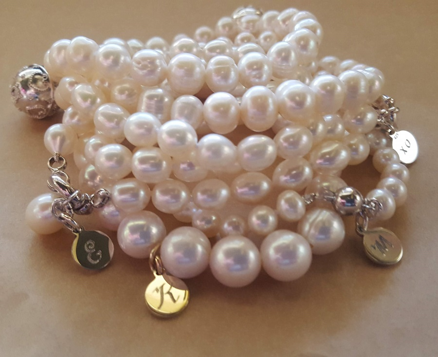 pearl bracelets girls and women