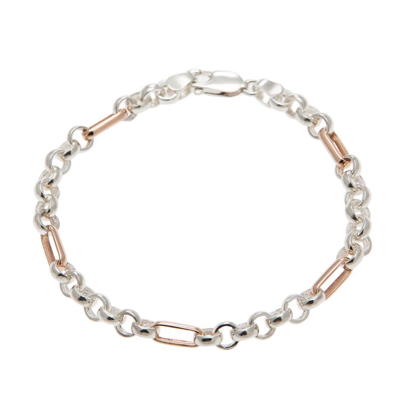 2tone gold silver chain