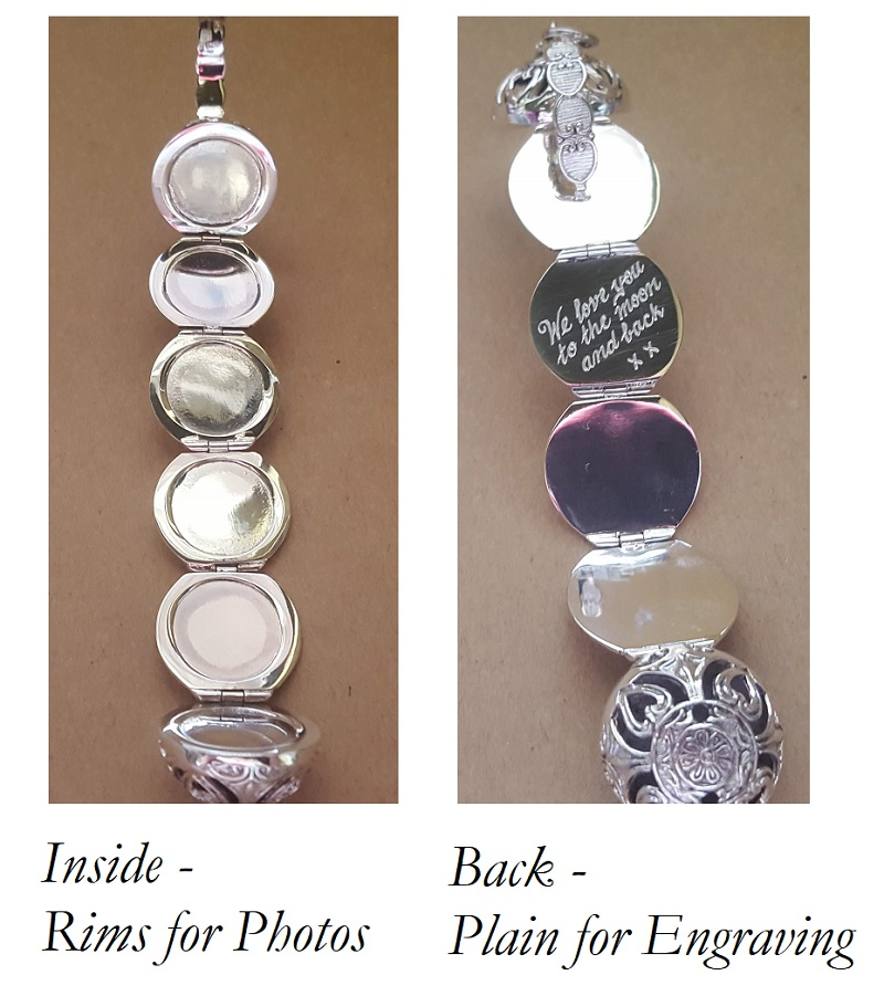 photoball locket silver