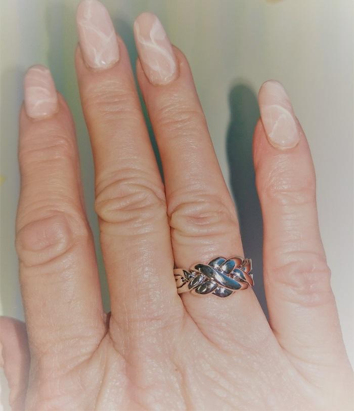 wedding puzzle ring