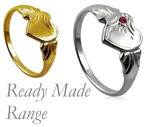 ready made signet rings in stock