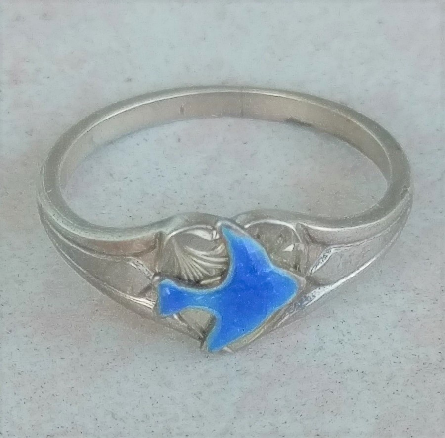 bluebird signet ring