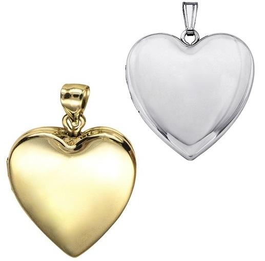 heart shaped lockets