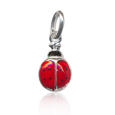 lady beetle charm