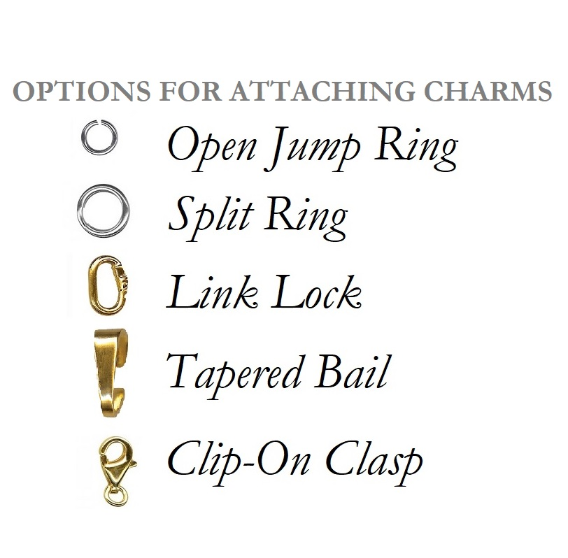 ways to attach charms