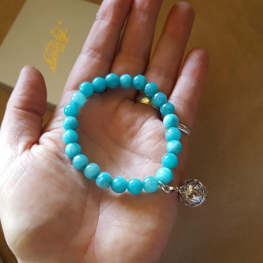 stone harmony ball bracelets