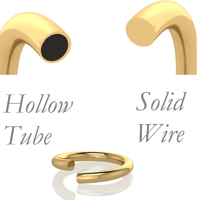 hollow or solid bangles