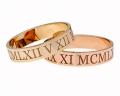 laser engraved rings gold