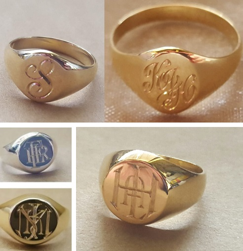 master engraved monograms