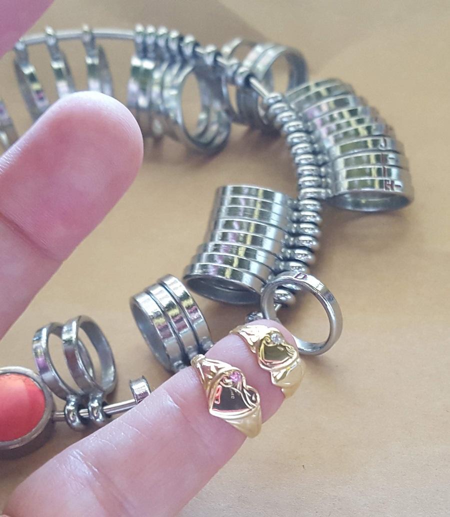 ring sizes in Australia