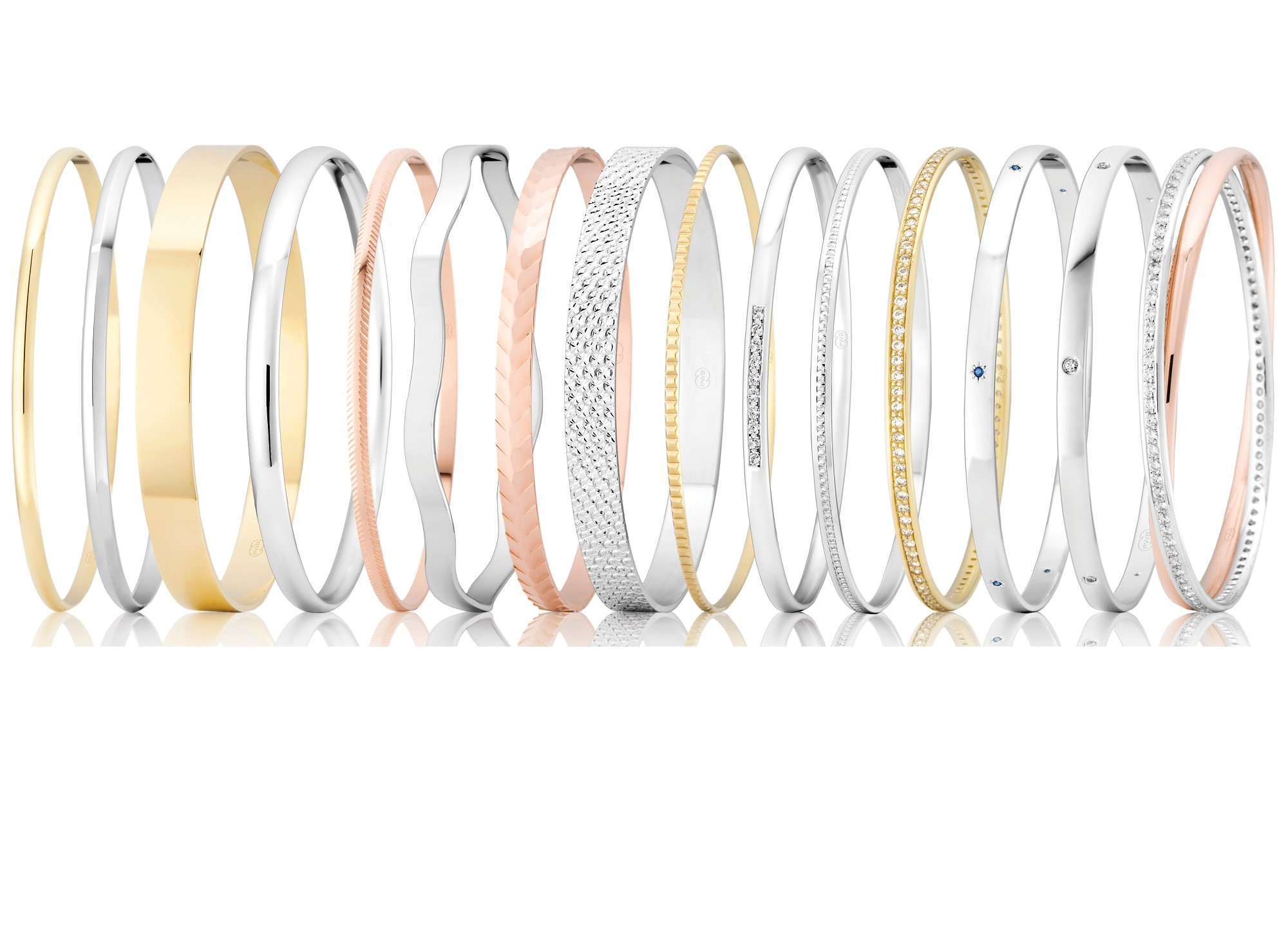 round bangles different shapes