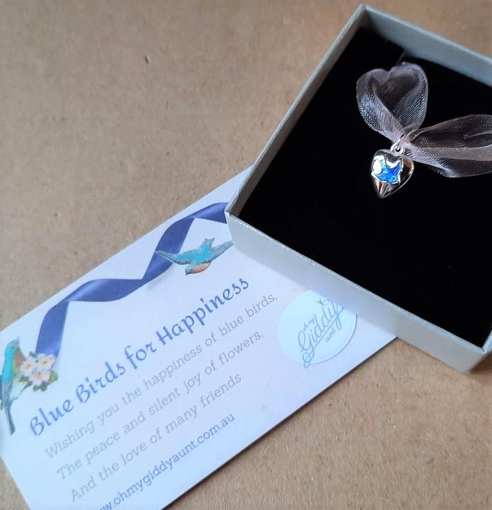 bluebird of happiness jewellery