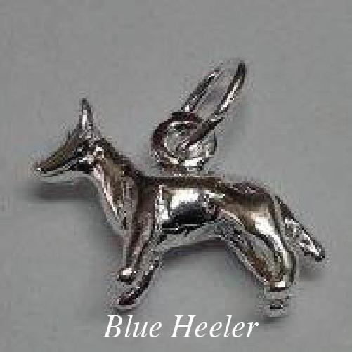 blue heeler charm